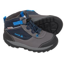 Kamik Daytrip Hiking Shoes - Waterproof, Insulated (For Toddlers) in Navy - Closeouts