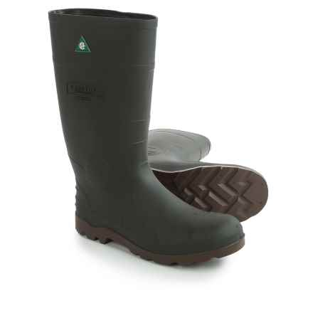 Kamik Defense 3 Rubber Work Boots - Waterproof, Safety Toe (For Men) in Green - Closeouts