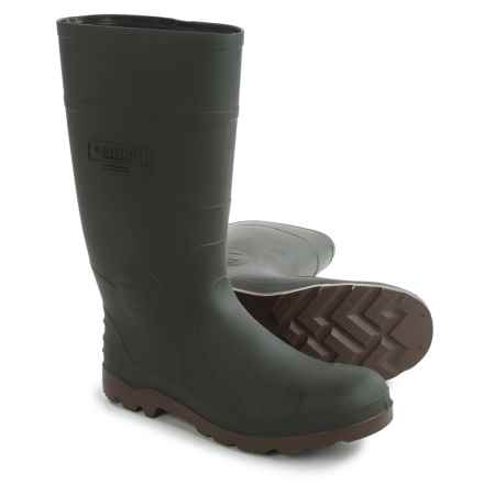 Kamik Defense Rubber Rain Boots - Waterproof (For Men) in Green - Closeouts