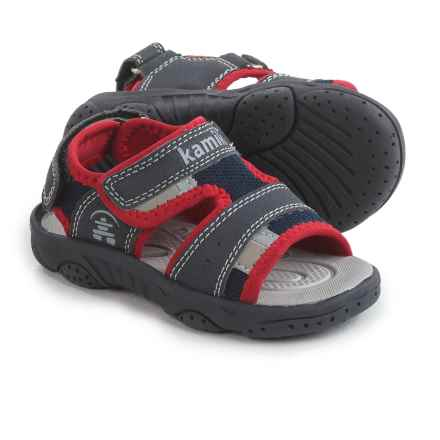 Kamik Dolphin Sport Sandals (For Toddlers) in Navy - Closeouts