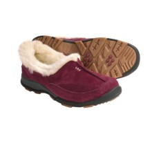 Kamik Dublin Shoes - Waterproof, Faux-Shearling (For Women) in Burgundy - Closeouts
