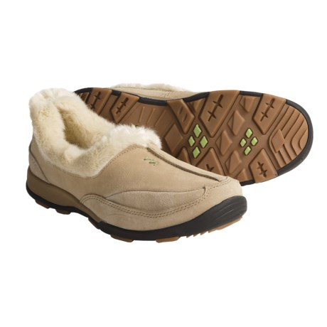 Kamik Dublin Shoes - Waterproof, Faux-Shearling (For Women) in Sand