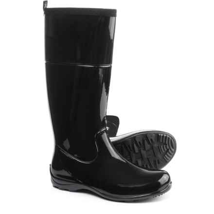 Kamik Ellie Tall Rain Boot - Waterproof (For Women) in Black - Closeouts