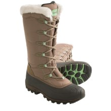 Kamik Encore Snow Boots - Waterproof, Insulated (For Women) in Taupe - Closeouts