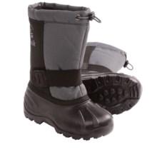 Kamik Fireball4 Winter Boots - Waterproof (For Kids) in Black - Closeouts