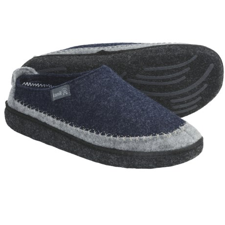 Kamik Fireside Slippers (For Men) in Navy