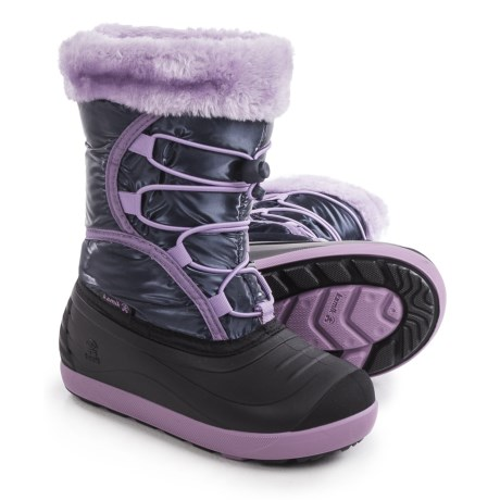Kamik Fleet Pac Boots (For Toddlers) in Navy