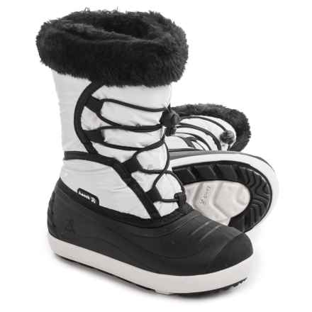 Kamik Fleet Pac Boots (For Toddlers) in White - Closeouts