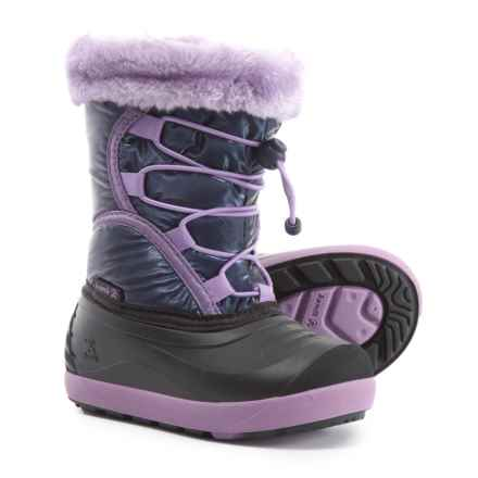 Kamik Fleet Pac Boots - Waterproof, Insulated (For Girls) in Navy - Closeouts
