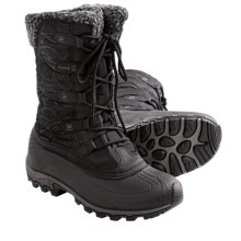 Kamik Fortress Winter Snow Boots - Waterproof, Insulated (For Women) in Black - Closeouts