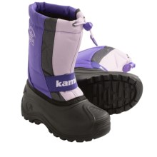Kamik Freezone Pac Boots - Waterproof (For Youth Girls) in Lavender - Closeouts