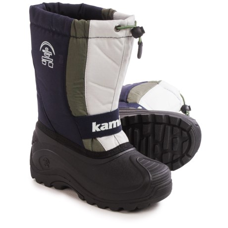 Kamik Freezone Pac Boots - Waterproof, Insulated (For Little and Big Kids)