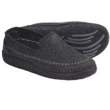Kamik Gatehouse Felt Moccasin Slippers (For Men) in Black - Closeouts