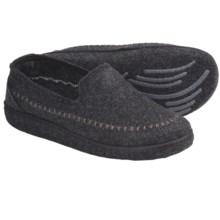 Kamik Gatehouse Felt Moccasin Slippers (For Men) in Black - Closeouts