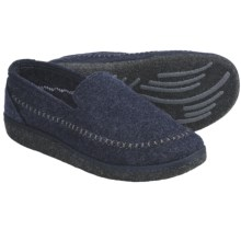 Kamik Gatehouse Felt Moccasin Slippers (For Men) in Navy - Closeouts