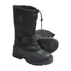 Kamik Greenwood Winter Pac Boots - Waterproof (For Men) in Black