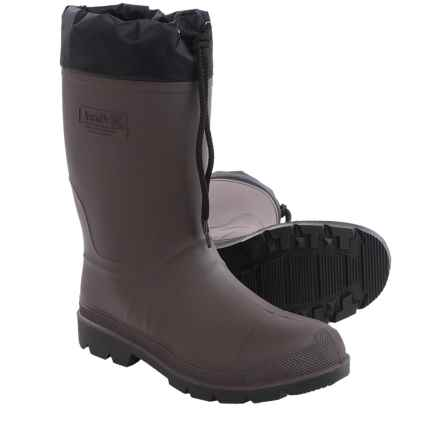 Kamik Grippers 2 Rubber Boots - Waterproof, Insulated (For Men) in Brown - Closeouts