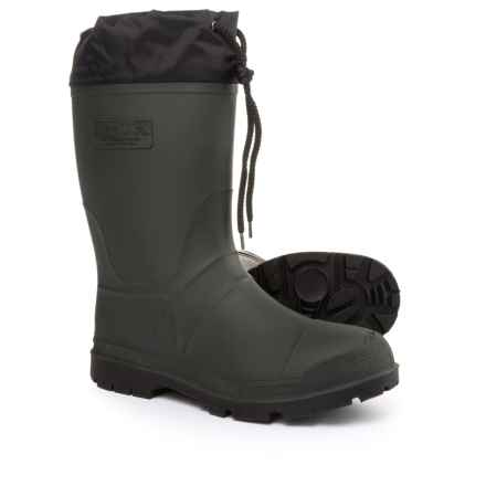 Kamik Grippers 2 Rubber Boots - Waterproof, Insulated (For Men) in Green - Closeouts