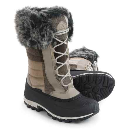 Kamik Haley Pac Boots - Waterproof, Insulated (For Women) in Taupe - Closeouts