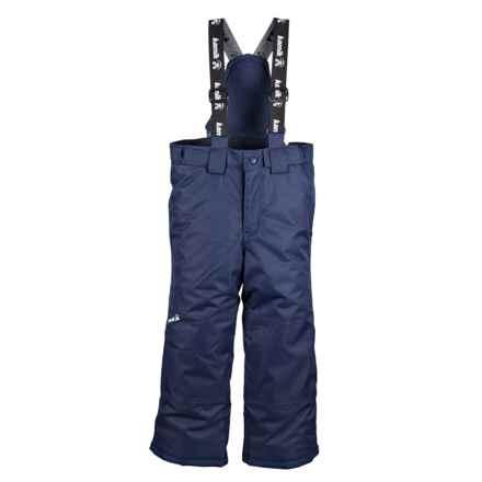 Kamik Harper Snow Pants (Toddlers) in Peacoat - Closeouts