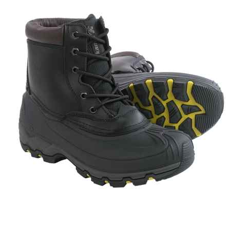 Kamik Hawksbay Thinsulate® Snow Boots - Waterproof, Insulated (For Men) in Black - Closeouts
