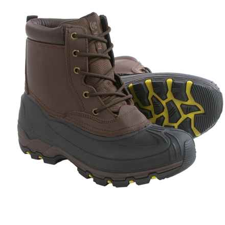 Kamik Hawksbay Thinsulate® Snow Boots - Waterproof, Insulated (For Men) in Dark Brown - Closeouts