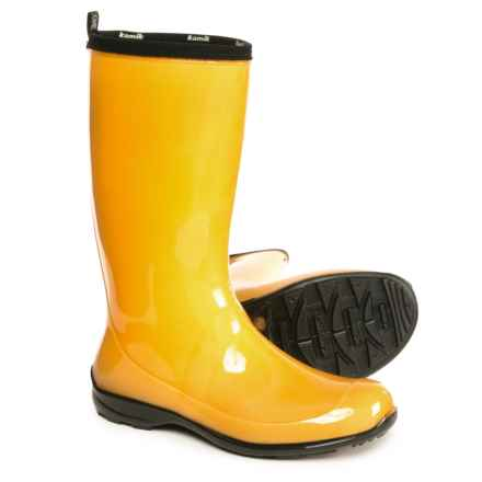Kamik Heidi Rain Boots - Waterproof (For Women) in Amber - Closeouts