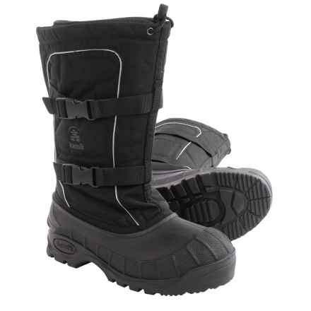 Kamik Helsinki Pac Boots - Waterproof, Insulated (For Men) in Black - Closeouts