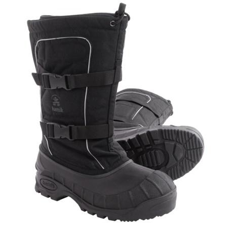 Kamik Helsinki Pac Boots - Waterproof, Insulated (For Men) in Black