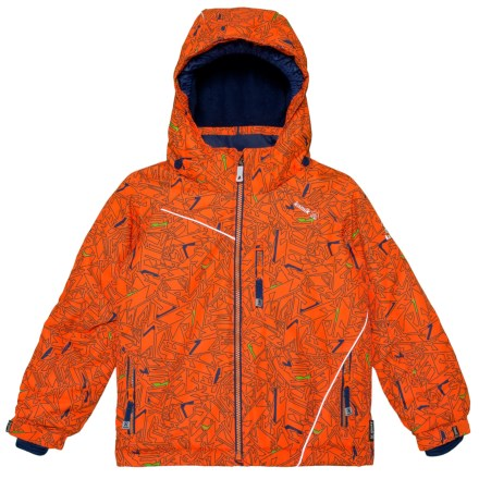 cd9da2072 Kamik Hunter Powersurge Ski Jacket - Insulated, Removable Hood (For Little  Boys) in