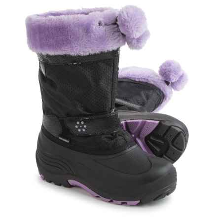 Kamik Iceberry Pac Boots - Waterproof, Insulated (For Little and Big Kids) in Black - Closeouts