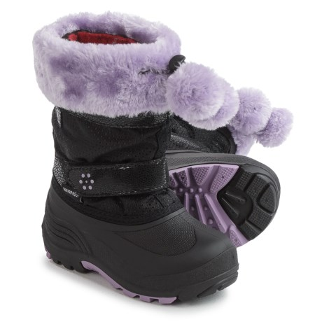 Kamik Iceberry Pac Boots - Waterproof, Insulated (For Toddlers) in Black