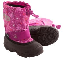 Kamik Icepop2 Snow Boots - Waterproof, Insulated (For Toddlers) in Berry - Closeouts
