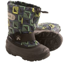 Kamik Icepop2 Snow Boots - Waterproof, Insulated (For Toddlers) in Lime - Closeouts
