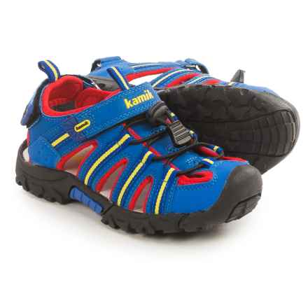 Kamik Iguana Sport Sandals (For Little and Big Kids) in Royal Blue - Closeouts