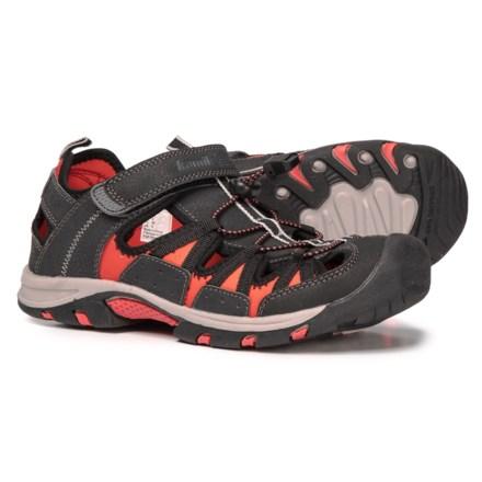 dc897acc256b Kamik Islander Sport Sandals - Closed Toe (For Women) in Black Red