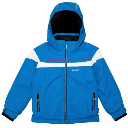 Kamik Jax Hooded Jacket - Waterproof, Insulated (For Little Boys) in Space/White - Closeouts