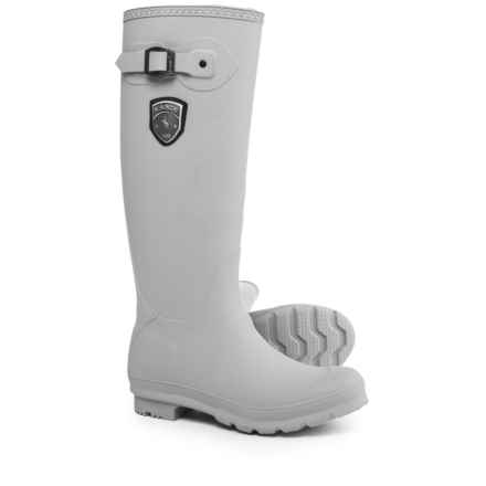 Kamik Jennifer Tall Rain Boots - Waterproof (For Women) in Light Grey - Closeouts