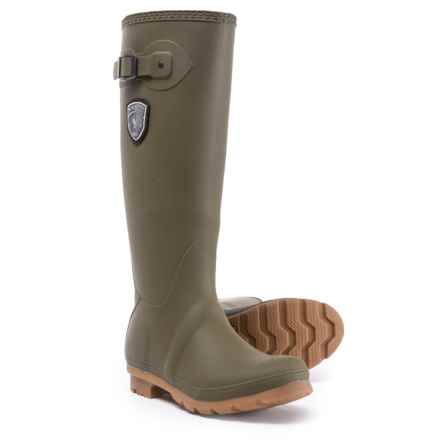 Kamik Jennifer Tall Rain Boots - Waterproof (For Women) in Olive - Closeouts