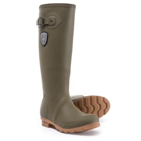 Kamik Jennifer Tall Rain Boots - Waterproof (For Women) in Olive