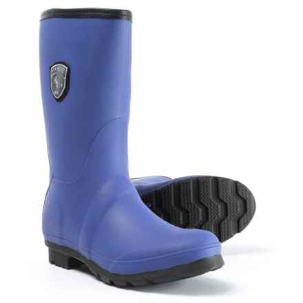 Kamik JenniferM Tall Rain Boots - Waterproof (For Women) in Blue - Closeouts