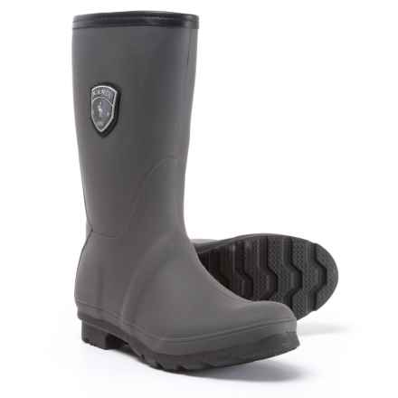 Kamik JenniferM Tall Rain Boots - Waterproof (For Women) in Charcoal - Closeouts