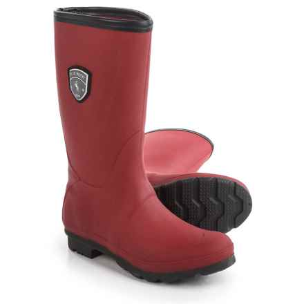 Kamik JenniferM Tall Rain Boots - Waterproof (For Women) in Dark Red - Closeouts