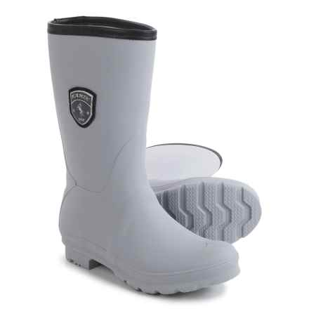 Kamik JenniferM Tall Rain Boots - Waterproof (For Women) in Light Grey - Closeouts