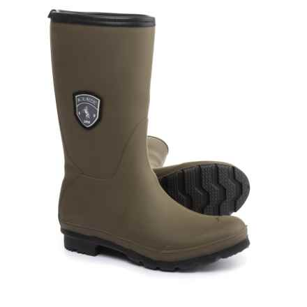 Kamik Jenny Mid Rain Boots - Waterproof (For Women) in Olive - Closeouts