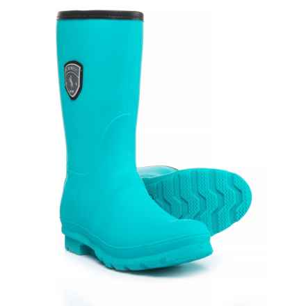 Kamik Jenny Mid Rain Boots - Waterproof (For Women) in Turquoise - Closeouts