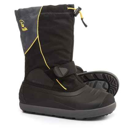 Kamik Jetsetter Pac Boots - Insulated (For Little and Big Kids) in Black - Closeouts
