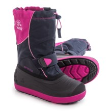 Kamik Jetsetter Pac Boots - Insulated (For Little and Big Kids) in Magenta - Closeouts