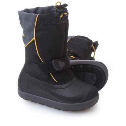 Kamik Jetsetter Pac Boots - Insulated (For Toddlers) in Black - Closeouts