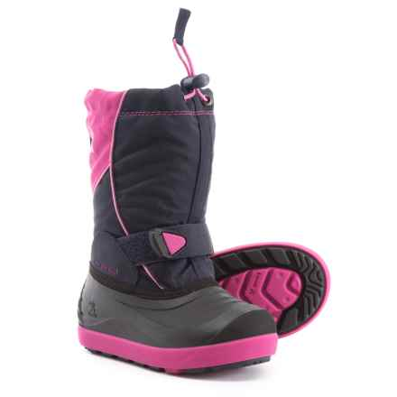 Kamik Jetsetter Pac Boots - Waterproof, Insulated (For Girls) in Magenta - Closeouts